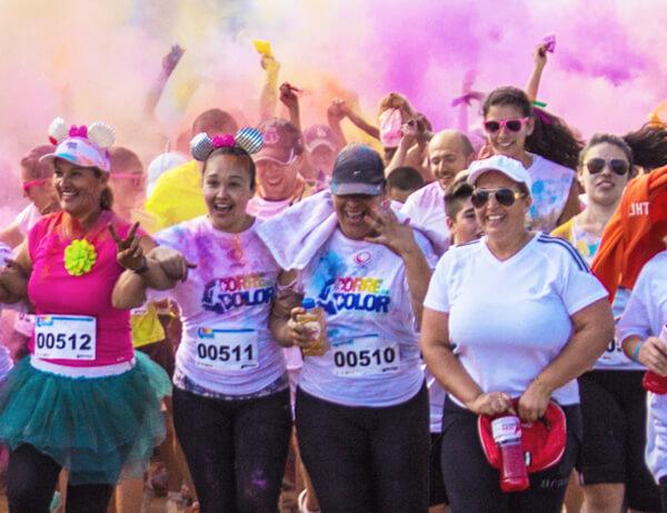 Corre con color