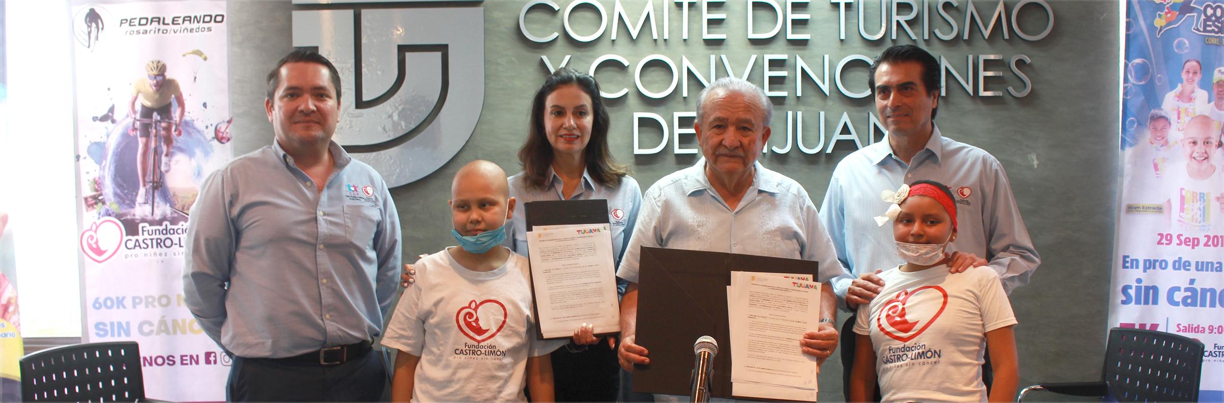 Fundación Castro-Limón y COTUCO unidos por una niñez sin cáncer