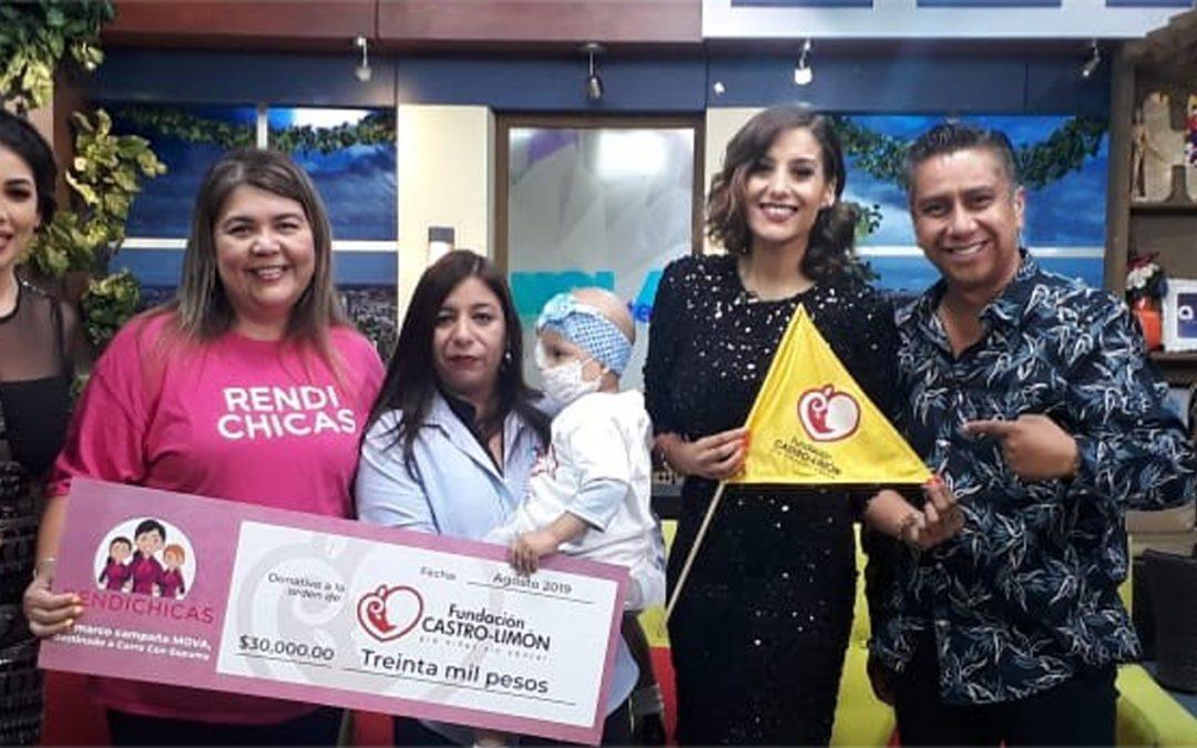Movimiento Azteca a favor de  Fundación Castro-Limón