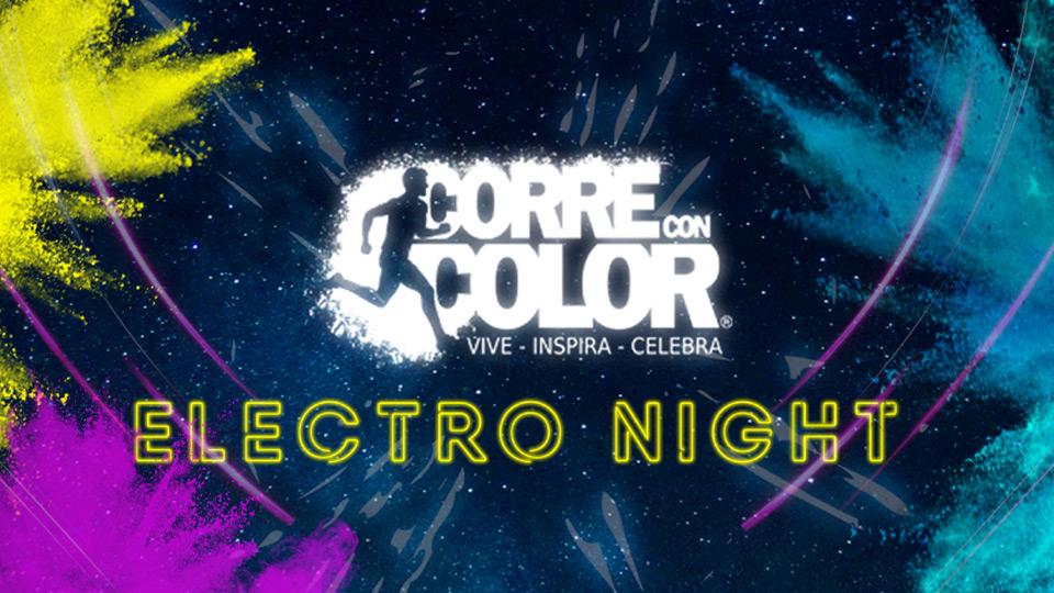 Corre con Color Electro Night